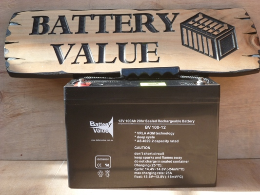 Battery Value 100Ah AGM