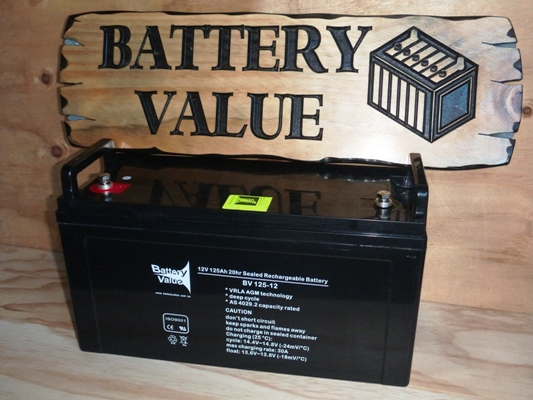 Battery Value 125Ah AGM