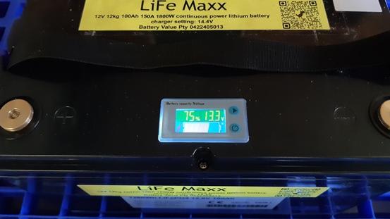LiFe Maxx 12V 12kg 100Ah 150A 1800W continuous power