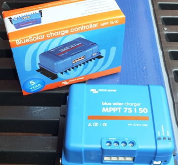 Battery Value Victron MPPT75/50